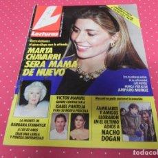 Coleccionismo de Revistas: REVISTA LECTURAS Nº1974 / 1990 LUZ CASAL / MICHELLE PFEIFFER / ISABEL PANTOJA / NACHO DOGAN /. Lote 203374277