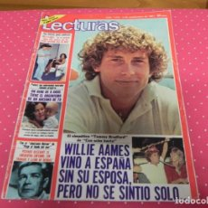 Coleccionismo de Revistas: REVISTA LECTURAS Nº1533 / 1981 WILLIE AAMES / PHILIPPE JUNOT / PETETE / TEQUILA / SALVAJES. Lote 203377481