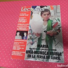 Coleccionismo de Revistas: REVISTA LECTURAS Nº1674 / 1984 JULIO IGLESIAS / IRENE CARA / DIANA DORS / PILAR TRENAS / GRACE KELLY. Lote 203383473