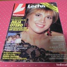 Coleccionismo de Revistas: REVISTA LECTURAS Nº1953 / 1989 ROCIO JURADO / PREYSLER / CHABELI / TONY CANTÓ / MECANO / JULIA OTERO. Lote 203384028