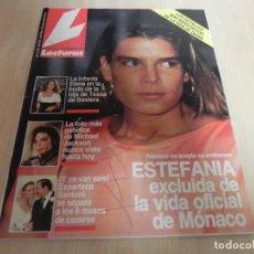 Collectionnisme de Magazines: REVISTA LECTURAS Nº2103 / 1992 MICHAEL JACKSON / JANE SEYMOUR / MARTA SANCHEZ / LIUVA TOLEDO /. Lote 203469147