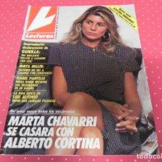 Collectionnisme de Magazines: REVISTA LECTURAS Nº1928 / 1989 ISABEL PANTOJA / MARTA SANCHEZ / PREYSLER / MIRTA MILLER / MADONNA. Lote 203796046