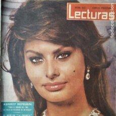 Coleccionismo de Revistas: LECTURAS Nº 507 DE 1961- SOFIA LOREN- AUDREY HEPBURN- DEBORAH KERR- LUCIA BOSE- KIRK DOUGLAS- GRACE. Lote 203891626
