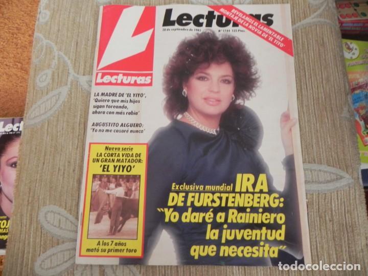 REVISTA LECTURAS Nº1744 / 1985 / EL YIYO / STALLONE/ MIGUEL CUBERO / SELECCION FUTBOL FEMENINA (Coleccionismo - Revistas y Periódicos Modernos (a partir de 1.940) - Revista Lecturas)