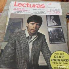Collectionnisme de Magazines: REVISTA LECTURAS Nº 908 / 1969 CLIFF RICHARD / MISS ESPAÑA 69 / SALOME / RINGO STARR / BOB DYLAN. Lote 203905436