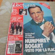 Coleccionismo de Revistas: LECTURAS-1654/1983-FAMA-LEE CURRERI-IVANKA UN DOS TRES-MARISOL-JULIO IGLESIAS-ESTEFANIA-JOHN LENNON. Lote 204005743