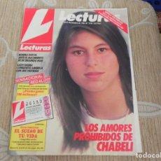 Coleccionismo de Revistas: REVISTA LECTURAS Nº1754/1985 CHABELI / KUNG FU / LOS PUNKS / ISABEL PANTOJA / GUNILLA / PREYSLER/. Lote 204007388