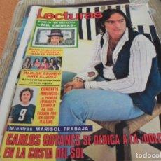 Coleccionismo de Revistas: REVISTA LECTURAS Nº1099 / 1973 UN DOS TRES / MAJA DE ESPAÑA /DE RAYMOND / THE CATS / BEE GEES / NINO. Lote 204011676