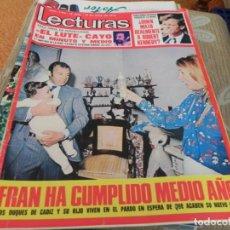 Coleccionismo de Revistas: REVISTA LECTURAS Nº1104 / 1973 DAVID CASSIDY / SANTABARBARA / LOS DIABLOS / NINO BRAVO / FORMULA V. Lote 204012320