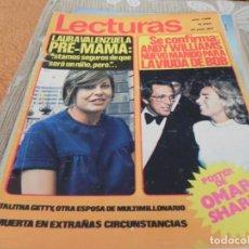 Coleccionismo de Revistas: REVISTA LECTURAS - N 1038 - 1972 RINGO STAR / JOHN LENNON / SYLVIE VARTAN - TAPA SUELTA. Lote 204166512