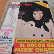Coleccionismo de Revistas: REVISTA LECTURAS - Nº1086/1973 SYLVIE VARTAN / GARY GLITTER / MIDEM 73 / UN DOS TRES /. Lote 204167180