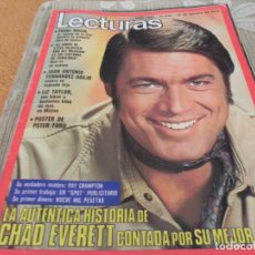 Coleccionismo de Revistas: REVISTA LECTURAS - Nº1087 / 1973 CECILIA/ UN DOS TRES / PETER SELLERS / PEDRO MACIA / KIM NOVAK. Lote 204168402