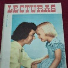 Coleccionismo de Revistas: REVISTA LECTURAS 1954. Lote 205070235