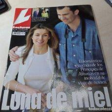 Coleccionismo de Revistas: PRINCIPES DE ASTURIAS LUNA DE MIEL FELIPE IV REINA LETICIA LECTURAS Nº 2724 2004. Lote 205448085