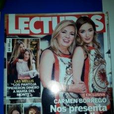 Coleccionismo de Revistas: REVISTA LECTURAS. Lote 205758356