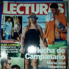 Coleccionismo de Revistas: REVISTA LECTURAS. Lote 205758640