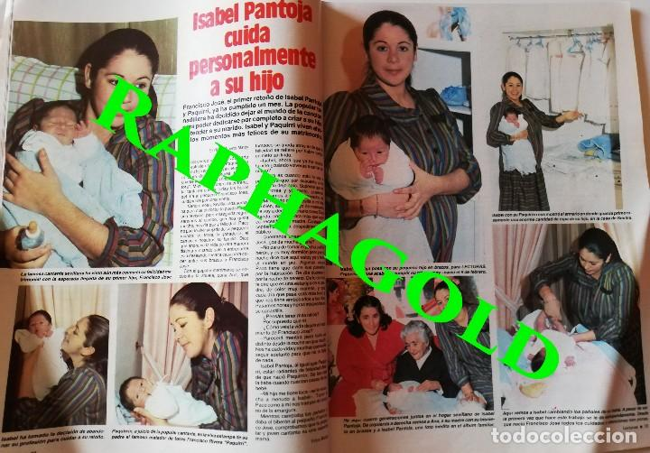 Coleccionismo de Revistas: Revista Lecturas nº 1665 Luis Alfonso Sara Montiel Isabel Pantoja Mayra Gomez Kemp Michael Jackson - Foto 2 - 206206501