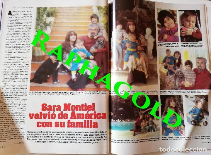 Coleccionismo de Revistas: Revista Lecturas nº 1665 Luis Alfonso Sara Montiel Isabel Pantoja Mayra Gomez Kemp Michael Jackson - Foto 4 - 206206501