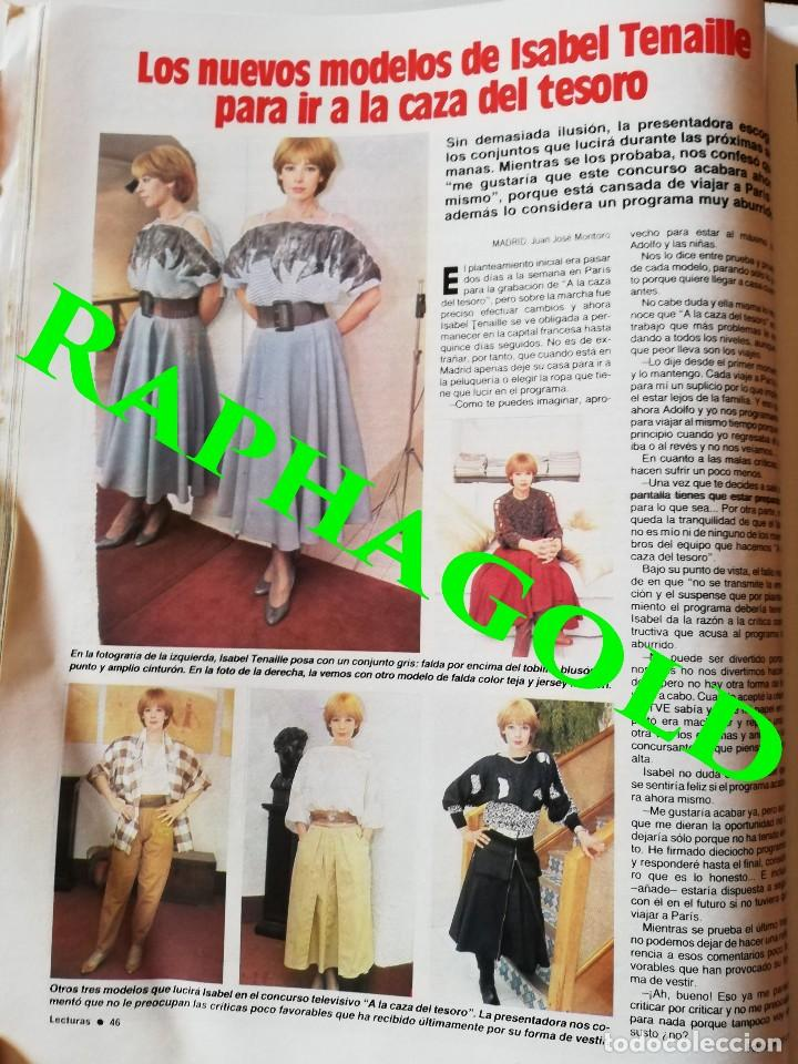 Coleccionismo de Revistas: Revista Lecturas nº 1665 Luis Alfonso Sara Montiel Isabel Pantoja Mayra Gomez Kemp Michael Jackson - Foto 8 - 206206501