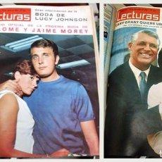 Coleccionismo de Revistas: REVISTA LECTURAS - JULIO - DICIEMBRE 1966 (Nº 742 AL 767) 25 NUMEROS - A-REV-1708. Lote 206821870
