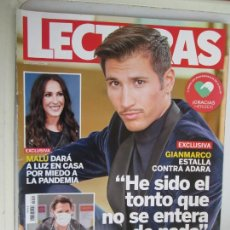 Collectionnisme de Magazines: REVISTA LECTURAS Nº 3551 - ABRIL 2020 - MALÚ, ANTONIO DAVID, ALEJANDRO REYES..... Lote 207132496