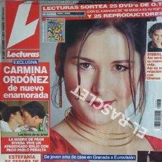 Coleccionismo de Revistas: ANTIGUA REVISTA LECTURAS Nº 2607 - AÑO 2002. Lote 207635371