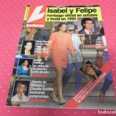 Coleccionismo de Revistas: REVISTA LECTURAS - Nº2113 / 1992 ISABEL PANTOJA / CHABELI / ROCIO JURADO / I PREYSLER / ANA OBREGON. Lote 207959963