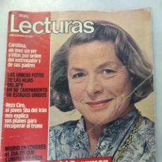 Collectionnisme de Magazines: LECTURAS NUM 1586, 10 SEPTIEMBRE 1982. INGRID BERGMAN. Lote 208133870