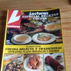 Coleccionismo de Revistas: LECTURAS ESPECIAL RECETAS COCINA Nº 2 1989. Lote 208176412