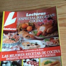 Coleccionismo de Revistas: LECTURAS ESPECIAL RECETAS COCINA Nº 4. Lote 208176520