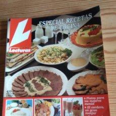 Coleccionismo de Revistas: LECTURAS ESPECIAL RECETAS COCINA Nº 5. Lote 208176556
