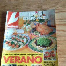 Coleccionismo de Revistas: LECTURAS ESPECIAL RECETAS COCINA Nº 21. Lote 208176696