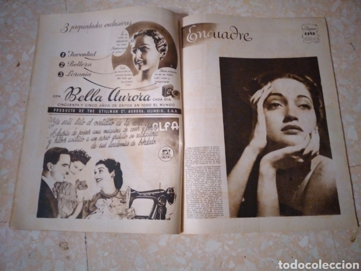 Coleccionismo de Revistas: Revista LECTURAS Agosto 1948 con publicidad años 40 - Foto 3 - 209629473