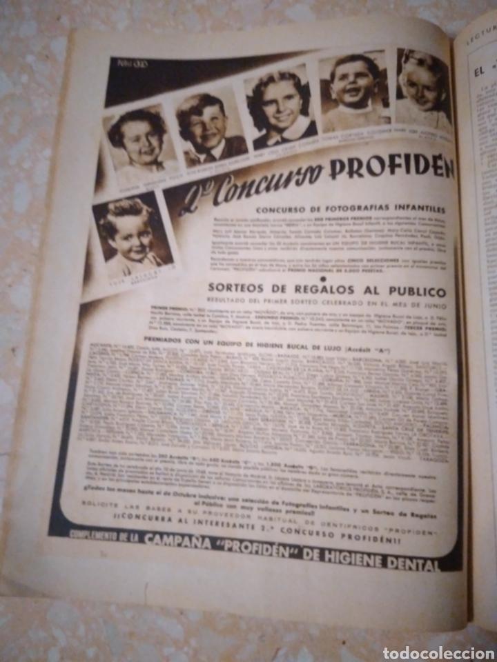 Coleccionismo de Revistas: Revista LECTURAS Agosto 1948 con publicidad años 40 - Foto 6 - 209629473