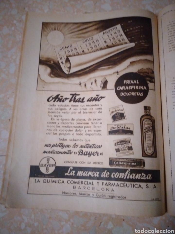 Coleccionismo de Revistas: Revista LECTURAS Agosto 1948 con publicidad años 40 - Foto 7 - 209629473