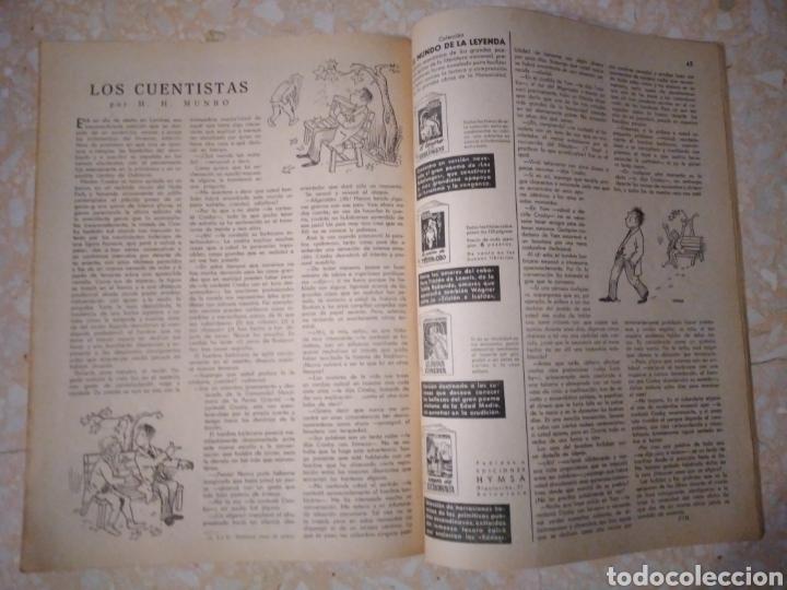 Coleccionismo de Revistas: Revista LECTURAS Agosto 1948 con publicidad años 40 - Foto 8 - 209629473
