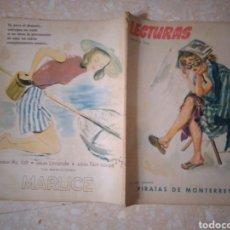 Coleccionismo de Revistas: REVISTA LECTURAS AGOSTO 1948 CON PUBLICIDAD AÑOS 40. Lote 209629473