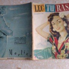 Coleccionismo de Revistas: REVISTA LECTURAS NOVIEMBRE 1951 CON PUBLICIDAD AÑOS 50. Lote 209707850