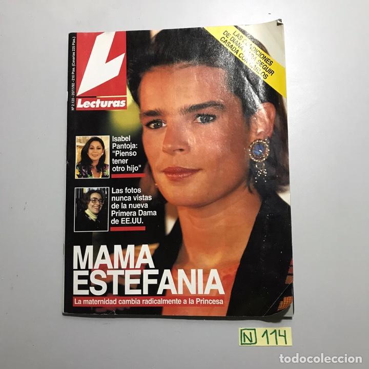LECTURAS (Coleccionismo - Revistas y Periódicos Modernos (a partir de 1.940) - Revista Lecturas)