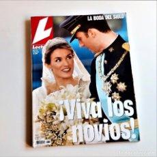 Coleccionismo de Revistas: REVISTA LECTURAS ESPECIAL LA BODA DEL SIGLO 2004 NUMERO 2723. Lote 210608297
