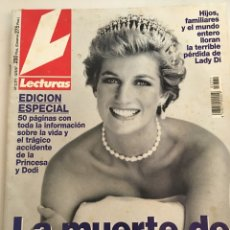 Coleccionismo de Revistas: REVISTA LECTURAS - 1997 - Nº 2371 - EDICION ESPECIAL LA MUERTE DE DIANA. Lote 210650142