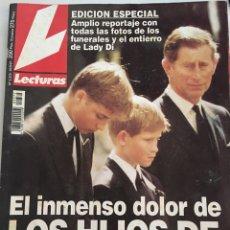 Coleccionismo de Revistas: REVISTA LECTURAS - 1997 - Nº 2372 - EL INMENSO DOLOR DE LOS HIJOA DE DIANA. Lote 210650272