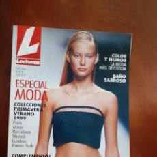 Coleccionismo de Revistas: REVISTA ESPECIAL MODA COLECCIÓN. PRIMAVERA VERANO.1999, COMPLEMENTOS INÉDITOS TENDENCIAS PARIS, MILA. Lote 210943919