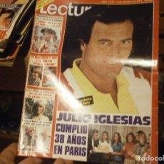 Coleccionismo de Revistas: REVISTA LECTURA,N 1537 JULIO IGLESIAS¡AÑOS 70 ¡¡NOSE ACMITE RECLAMACIONES. Lote 213367926