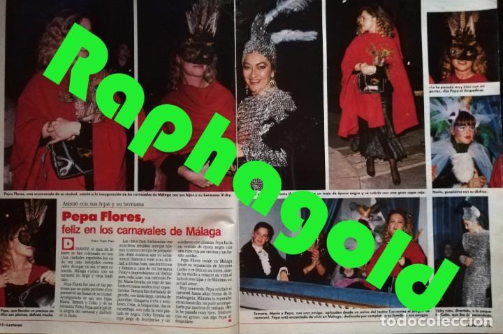 Coleccionismo de Revistas: Revista Semana Lecturas nº 1925 Marta Chavarri Romina Power Isabel Pantoja Marisol Sabrina Salerno - Foto 5 - 213534058