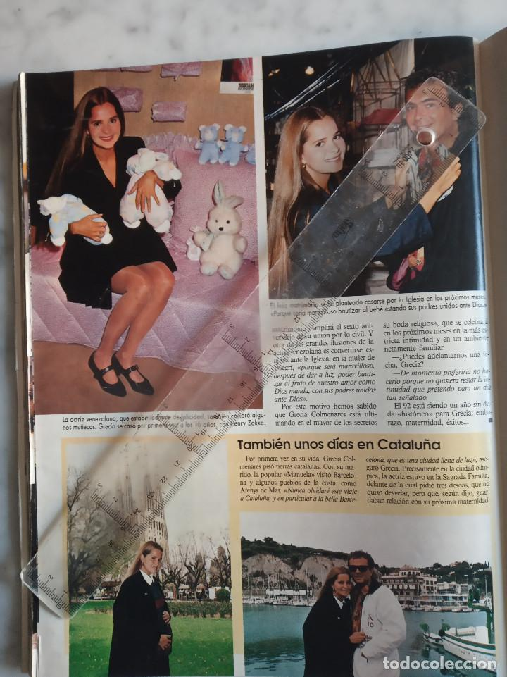 Coleccionismo de Revistas: LECTURAS,URI GELLER-ANTONIO BANDERAS-MADONNA-SONSOLES SUAREZ-CARMEN SEVILLA-GRECIA COLMENARES. - Foto 4 - 213602858