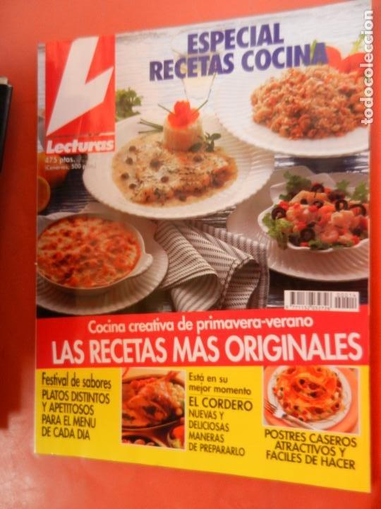 LECTURAS , COCINA REVISTA Nº 14 - MARZO 1995 - ESPECIAL RECETAS DE COCINA - 244 PAGINAS (Coleccionismo - Revistas y Periódicos Modernos (a partir de 1.940) - Revista Lecturas)
