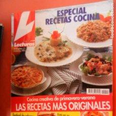 Coleccionismo de Revistas: LECTURAS , COCINA REVISTA Nº 14 - MARZO 1995 - ESPECIAL RECETAS DE COCINA - 244 PAGINAS. Lote 213645021