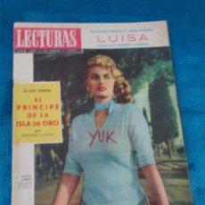 Coleccionismo de Revistas: SOFIA LOREN - MAMIE VAN DOREN - ZSA ZSA GABOR ... LECTURAS 1957. Lote 213949921