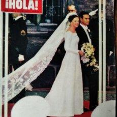 Colecionismo de Revistas: ¡HOLA! Nº 1190 D 1967- MARGARITA DE DINAMARCA- LIZ TAYLOR- PAQUITA TORRES- CARMEN SEVILLA- ROMY SCHN. Lote 214648100